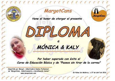 Kaly Diploma Binomio